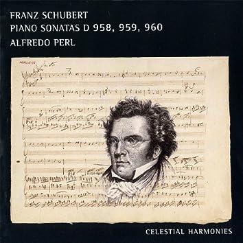 Schubert: Piano Sonatas D 958, 959, 960