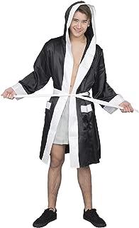 Adult Halloween Costume Boxing Robe with Hood