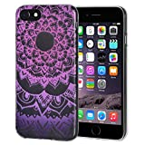 AMZER Soft Gel Designer Graphic TPU Skin Case for iPhone 6 Plus/6s Plus - Mandala Purple Zen