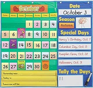 Really Good Stuff 157458 Today's Calendar Pocket Chart