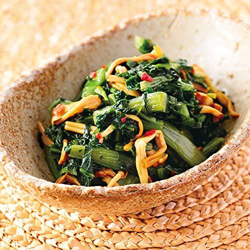 野沢菜の煮物 1kg しっかりと味を染み込ませ、辛味とごま油の香りを上手に調和させました(rns246299)