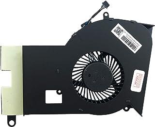 KINPOWER Ventilateur de CPU Fan 4Pin pour HP Omen 15-AX 15-BC Series