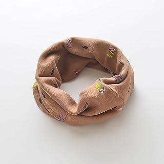 Greneric, Niños Cuello primavera y otoño fino algodón puro mangas bebé cuello conjunto otoño e invierno cálido joven bebé niña niña bebé calcetines pequeños Curry Color