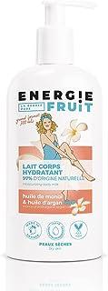 ENERGIE FRUIT | Lait Corps Hydratant | Monoï & Huile de Macadamia BIO | Fabrication Française | Vegan | 300ml