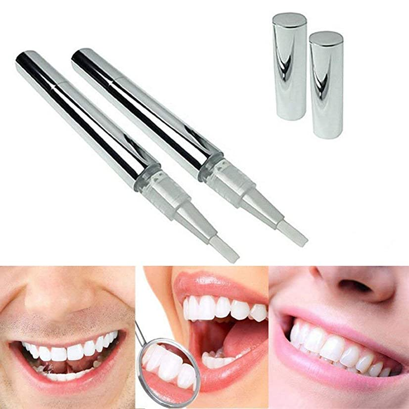 バット懸念騒々しい美白歯ゲル 歯 ホワイトニングペン ホワイトニングペン 歯ブラシ 輝く笑顔 口臭防止 歯周病防止 2本
