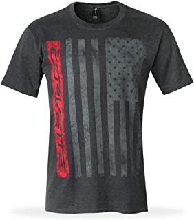 C7 Corvette Patriot T-Shirt - From the American Legacy Collection - Heather Gray (X-Large)