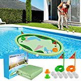 MeiGuiSha 62″ Inflatable Swimming Pool Golf Mat Game Toys for Kids Adults