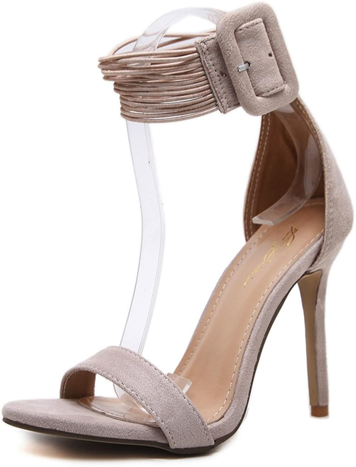 MIKA HOM Women Sandals High-Heeled Party Sandals Wedding Working shoes