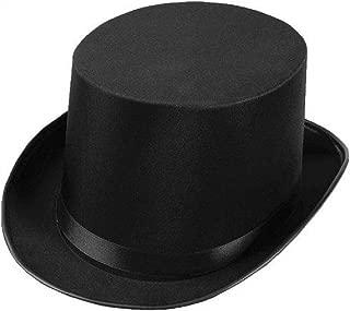 Men's Permasilk Top Hat (5 Inch Tall)