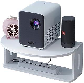 Casiers, étagères et tiroirs Étagère Flottante for Composants De Télévision Salon Support De Routeur Mural WiFi sans Fil s...