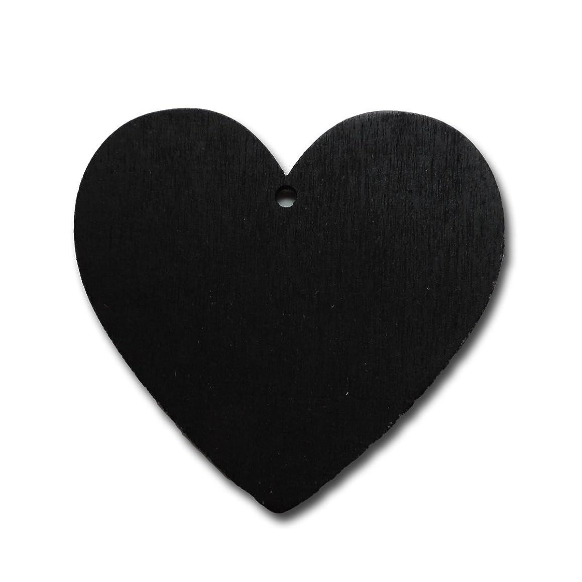 Maya Road WD3023 Wood Chalkboard Tags, Heart