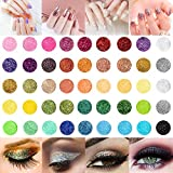 45 Clos Nail Art Glitter Powder Set