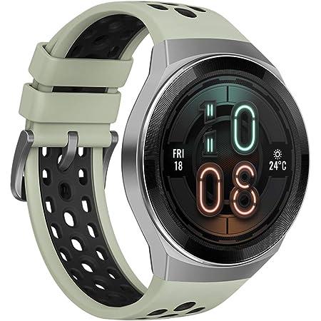 HUAWEI(ファーウェイ) Watch GT2e 46mm スマートウォッチ 2週間長時間バッテリー 血中酸素レベル測定機能 GPSみちびき対応 ミントグリーン 【日本正規代理店品】