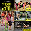 Lebert Fitness Dip Bar Stand - Original Equalizer Total Body Strengthener Pull Up Bar Home Gym Exercise Equipment Dipping Station - Hip Resistance Band, Workout Guide and Online Group - Yellow #1