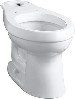 Kohler K-4309-0 Cimarron Comfort Height Elongated Toilet Bowl, White