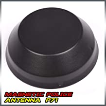 HaoTang Strong Suction Magnet Outside Magnetic Police Antenna for P71 Crown Victoria/Impala 4 1/2