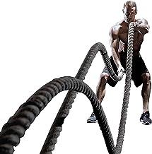 Battleropes Strijd Touwen, Oefening Golving Touw voor Workout Cardio & Core Krachttraining, voor Mannen Vrouwen (Size : 25mm)