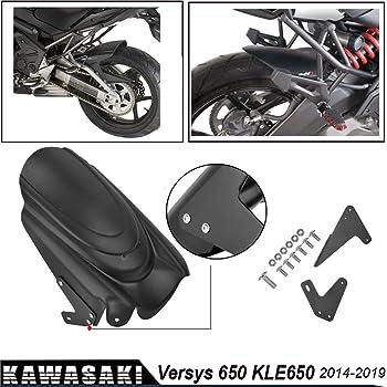 06/ 09 KMG4103 Kawasaki Versys 650/ Kawasaki Versys 650/ Color Negro Kappa Guardabarros//cubrecadena para Coche de pl/ástico ABS 10/ 14