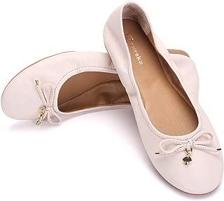 Eureka USA Women's Universe Leather Ballet Flat