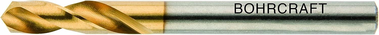 Bohrcraft Spiralbohrer DIN 1897 HSS-E Typ N N N TiN, Profi Plus, 13,0 mm in BC-QuadroPack, 1 Stück, 12660301300 B00ELDT5OO | Ausgewählte Materialien  685810