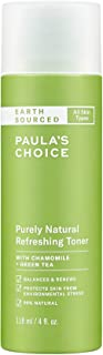 Paula's Choice EARTH SOURCED Natural Refreshing Toner | Almond Oil, Chamomile & Green Tea | 98% Natural & Fragrance Free |...