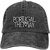 Portugal El Hombre Clásico Casquette Béisbol Gorras Negro Algodón Ajustable Unisex Sombrero Regalo
