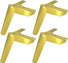 Meubelpoten, Set van 4 moderne metalen driehoek meubels voeten, DIY Sofa vervanging voeten, koolstofstaal badkamer kast on...