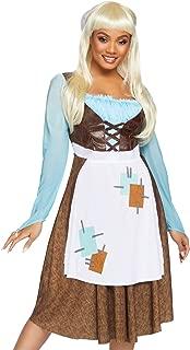 2 PC. Ladies Peasant Cinderella Costume Set