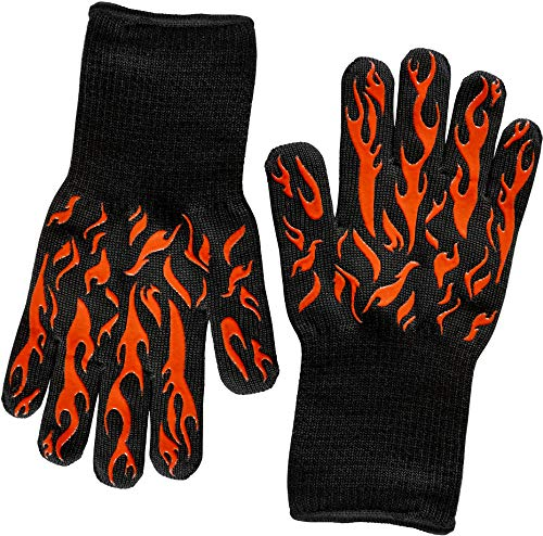 BBQ & Ove Gloves are Extremely Flame & Heat...