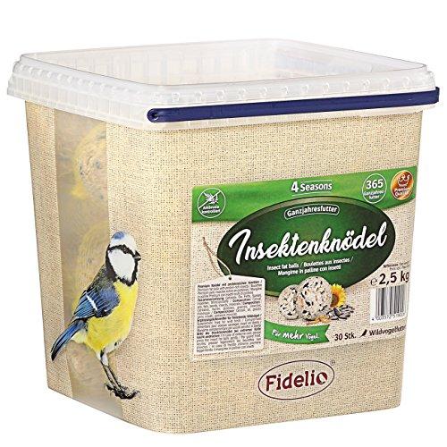 Fidelio Insektenknödel im Eimer, 2.5 kg