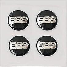 BBS Jeu de 4 bouchons pour valves hexagonales m/étalliques