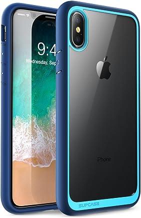 SUPCASE Suplase - Carcasa para iPhone XS, diseño de Unicornio Beetle, híbrida de Alta Calidad para iPhone X 2017 y iPhone XS de 5,8 Pulgadas, versión 2018, Color Azul