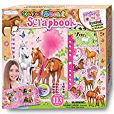 Horse Gifts for Girls - Craft StuffScrapbooking Kit for Kids Ages 8-12 Year Olds - Hardback Sticker Activity Book Set and Journal with Passcode Lock to Keep Her Secrets and Memories Safe
