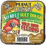 C&S Peanut Delight No Melt Suet Dough, 12/pack 11.75 Ounces