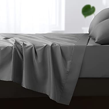 Balichun 6 Pack Flat Sheet Set -Premium Quality Sheet Soft and Breathable Wrinkle, Fade Resistant Bed Top Sheet for Hotel and