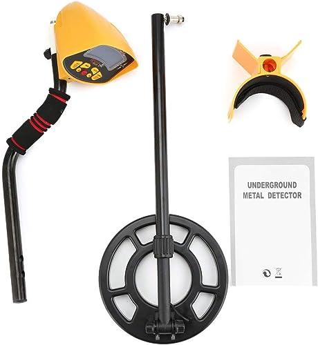 selección larga Comomingo Buscador de detectores de de de Metales MD-3010II Escáner de oro subterráneo (negro y amarillo)  precios ultra bajos