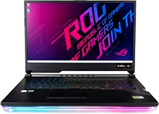 "CUK ASUS ROG Scar III G731GW Gaming Laptop (Intel i7-9750H, 32GB RAM, 1TB NVMe SSD, NVIDIA GeForce RTX 2070 8GB, 17.3"" Full HD 240Hz 3ms, Windows 10 Home) Gamer Notebook Computer"
