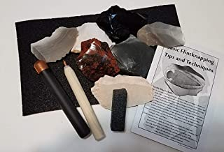 flint knapping tool kit