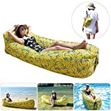 Fansport Hamac Gonflable avec air Sofa Gonflable Lounger Hamac...