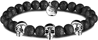 Best mens skull bracelet Reviews