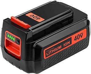 Upgraded 3000mAh 40 Volt MAX Replacement Battery for Black and Decker 40V Battery LBX2040 LBXR36 LSW36 LBXR2036 LBX2 LST54...