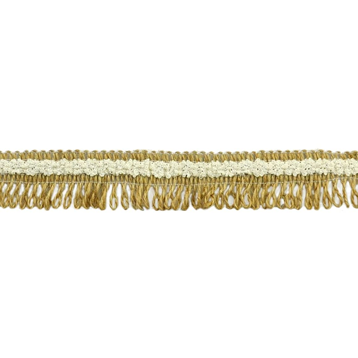 BELAGIO Enterprises BF-1617 Burlap Lace Loop Fringe Trim