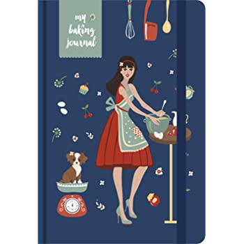 MatrikaS Baking Journal - A5 - B (MatrikaS Baking Journal Inspires The Baker in You, to be Creative in The Kitchen & Record Your Experiments with Recipes!)