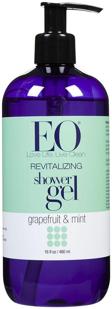 ぼんやりした緊急ペニーEO Products Grapefruit & Mint Shower Gel 473 ml (並行輸入品)