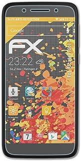 atFoliX Skärmskydd är kompatibel med Alcatel Idol 5 Skyddsfilm, antireflekterande och stötdämpande FX Film (3X)