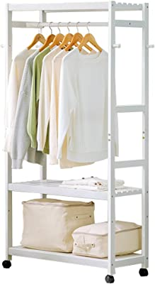 Amazon.com: XFY Coat Rack Garment Rack Coat Clothes Hanging ...