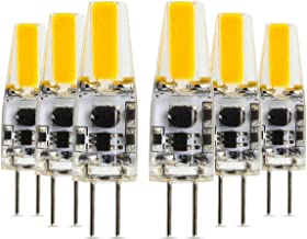SGJFZD G4 2W LED Silicone Lamp Double Needle LED Bulb COB Energy Saving Lamp (Equivalent 20W Halogen Lamp) 2700k/4200k/600...