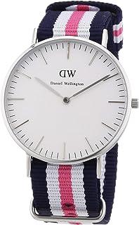 Daniel Wellington 丹尼爾?惠靈頓 瑞典品牌 Classic系列 尼龍表帶 石英手表 女士腕表