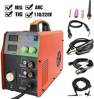 TOSENBA MIG/TIG/ARC Welder 3 in 1 Welding Machine Dual Voltage 110/