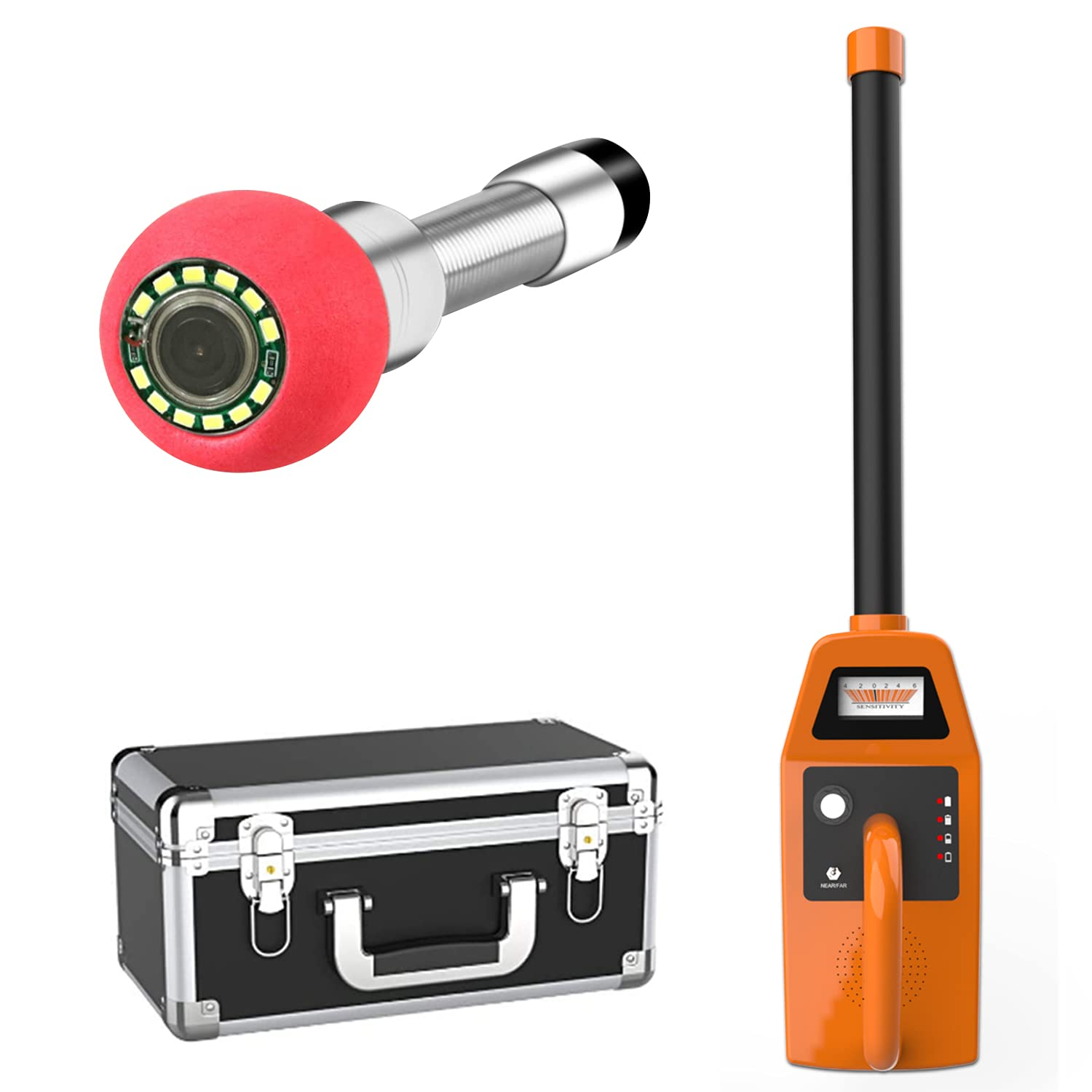 Anysun Minneapolis Mall 512hz Pipe Locator Receiver and for Sew NEW before selling ☆ Transmitter Sonde